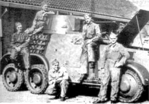 M38 armoured car corporals 2 E. Paw.